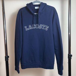 LACOSTE Womens Hoodie 3XL/FR 8 blue